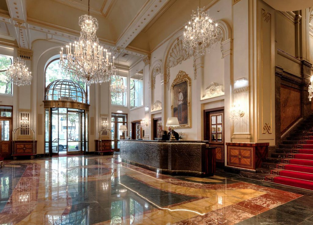 How Decorative Metal Coatings Can Transform Hotel Reception Spaces